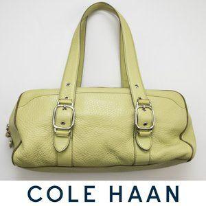 Cole Haan Village Green Satchel Bag Leather